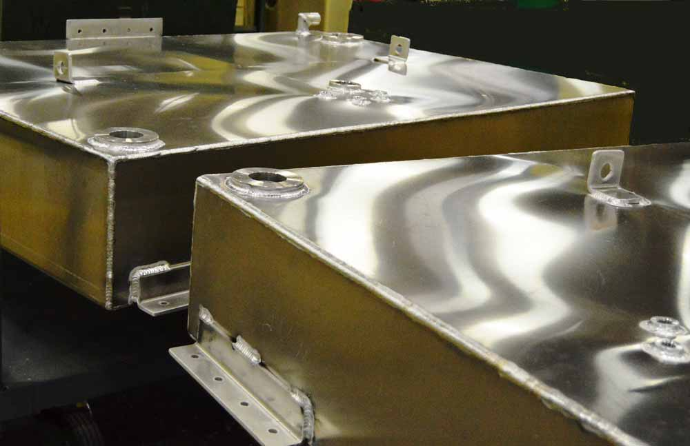 Custom Aluminum Fuel Tanks Moeller Marine