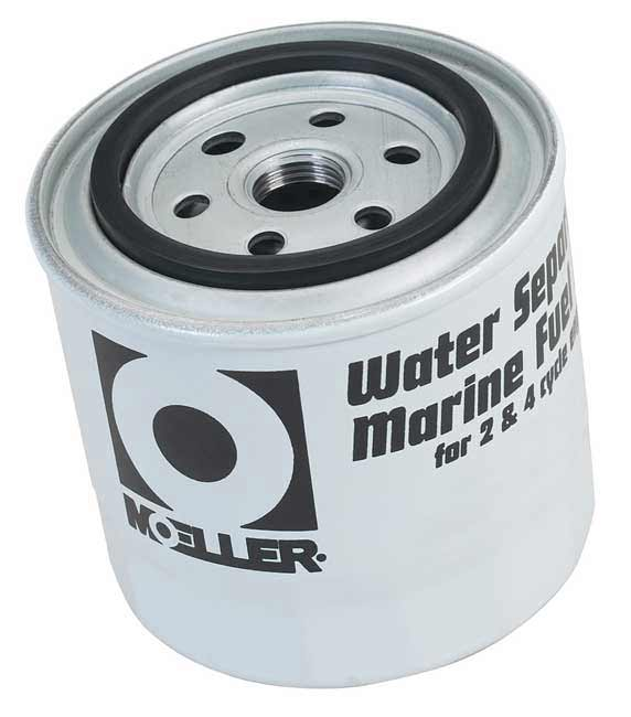 10 Micron Long Water Separating Fuel Filter, Universal and Mercury
