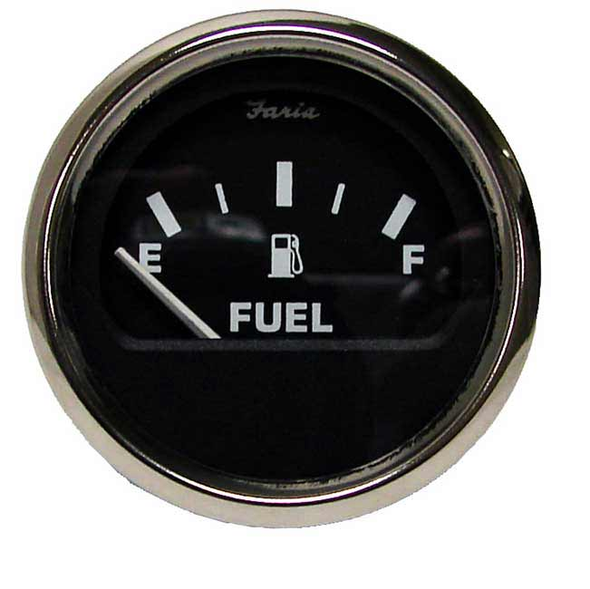 Dash Mounted Electric Fuel Gauge