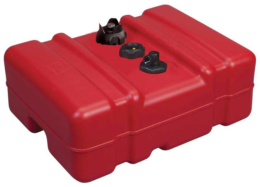 12 Gallon Low Profile Portable Fuel Tank