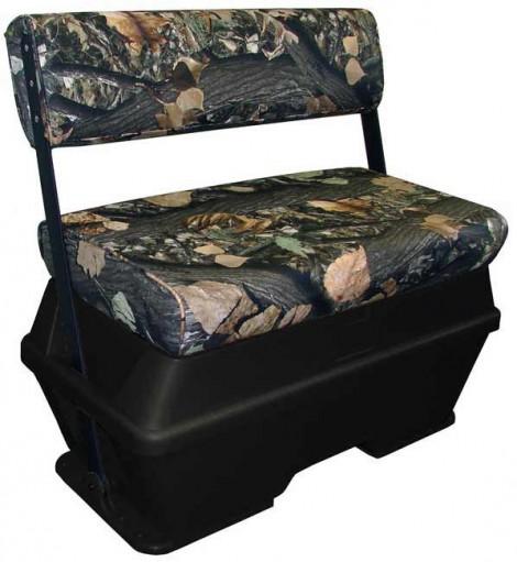 Dlx 50 Qt Swing Back Cooler Livewell Seat Black Camo
